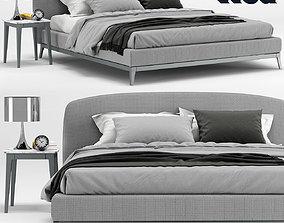 Flou Olivier bed 3D model