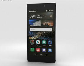 Huawei P8 Carbon Black 3D model