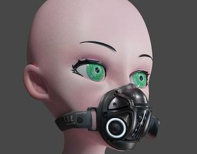 H225 Mask 3D model