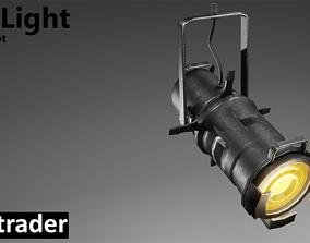 Stage Light Tungsten Spot 3D asset