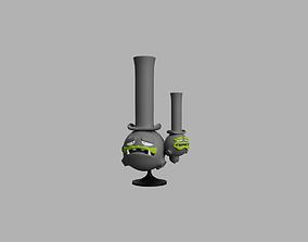 Sir Galar Weezing 3D print model