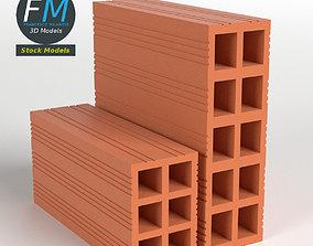 3D PBR industrial Bricks