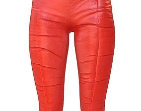 3D model Legging Red 2