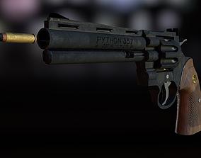 3D asset Magnum Colt Python 357