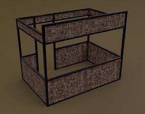 3D asset Stall stand 07 R