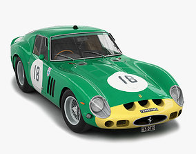 gt Ferrari 250 GTO - 3767 GT - No Engine 3D
