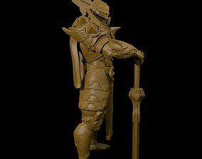 Angelic Knight 3D print model