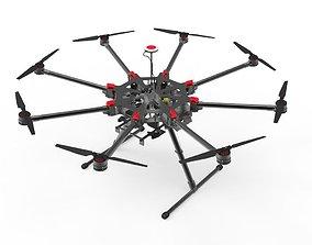 DJI S900 camera drone 3D asset