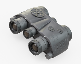 3D asset game-ready Night Vision Goggles