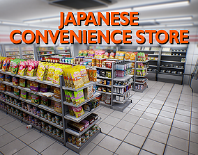 Japanese Convenience Store Pack - Over 400 unique low-poly