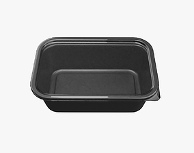 Meal Container 3D asset
