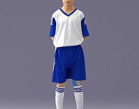 Soccer player 1114-6 3D