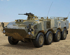 3D model Type 96 Wheeled Armored Personnel