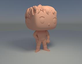 Funko Pop Custom Man Pose 3D Print Model custom
