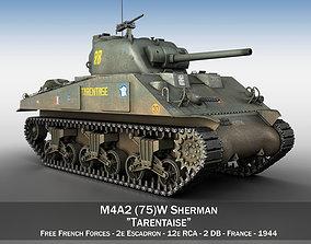 m-4a1 M4A2 Sherman - Tarentaise 3D model