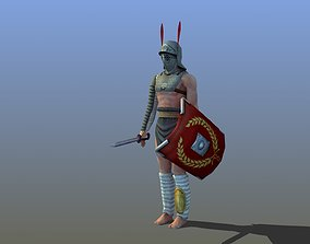 Provocator Gladiator 3D model game-ready