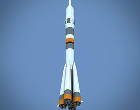 3D asset Soyuz FG