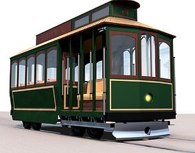 3D model electricity Street Tram