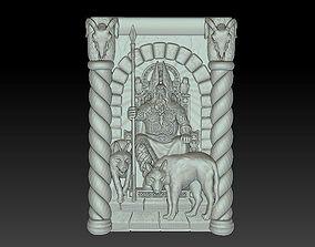 god and wolves 3D print model