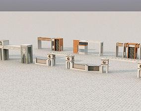 3D model GATE GATEWAY