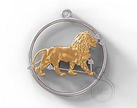 Lion stars 3D printable model