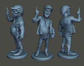 Donald Trump Finger Up 3D printable model