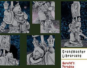 3D printable model Grandmaster of Librarians - The 3