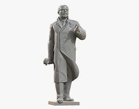 Lenin Sculpture 3D printable model