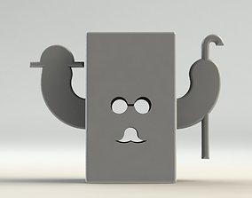 Gentleman Pen Holder 3D printable model