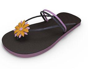 Sandal Flower 3D model
