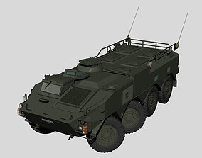 3D model Japan Ground Self-Defense Force Type96 APC 1