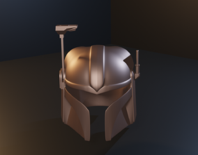 mandalorian Twilek helmet 3D printable model