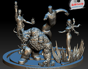 Fantastic Four 3D printable model