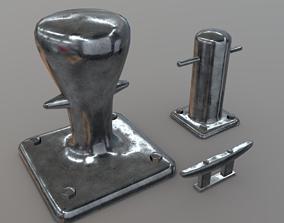 Bollard Cleat 3D model