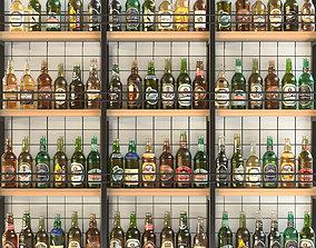3D model Large alcoholic set 12 Bar