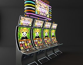 curve casino slot machine 3D