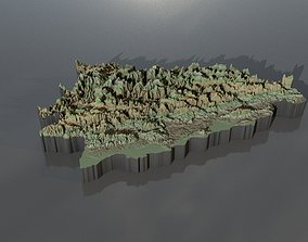 High res heightmaps and geometry for Bosnia and 3D