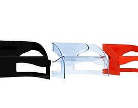 Kartell 4801 Chair 3D asset
