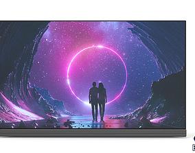 3D model LG OLED TV Signature 65-inch