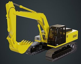 3D model Excavator 1A