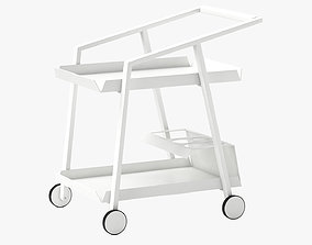 3D 10Deka Pulvis Food Trolley