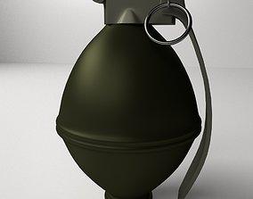 3D Fragmentation Grenade