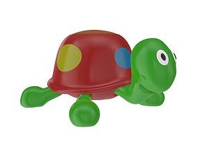 Turtle toy 3D model PBR