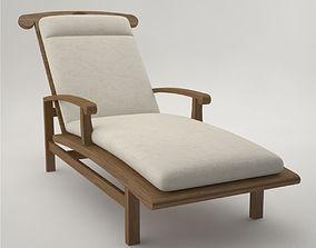 Pro - Lounge Long Chair FC257 3D