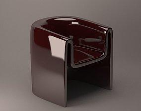 Melaina chair Driade 3D model