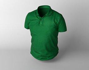 3D model Green T-shirt