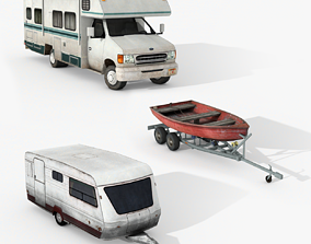 3D model Campers Collection