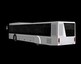 3D model realtime City bus