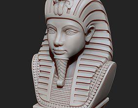 3D print model Tutankhamun Pharaoh King Egiptian Bust