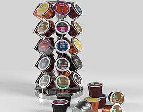 Coffe Pod 3D asset